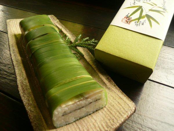鮎笹寿司のお土産