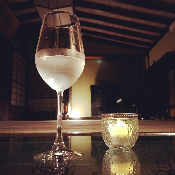 日本酒をグラス単位でお飲みになれるようになりました。