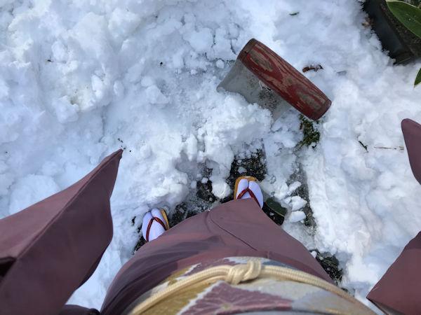 雪と戦いました!(私以外の人が(笑))